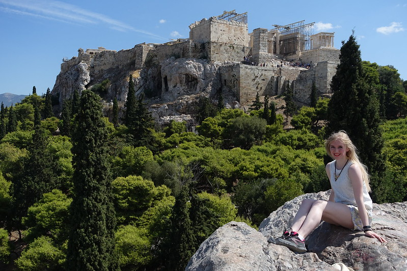 Visiting the Acropolis, 14 September 2015 099