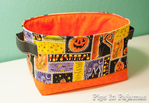 Halloween One Hour Basket