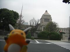 Raichu in Kojimachi, Tokyo 48 (National Diet Building)