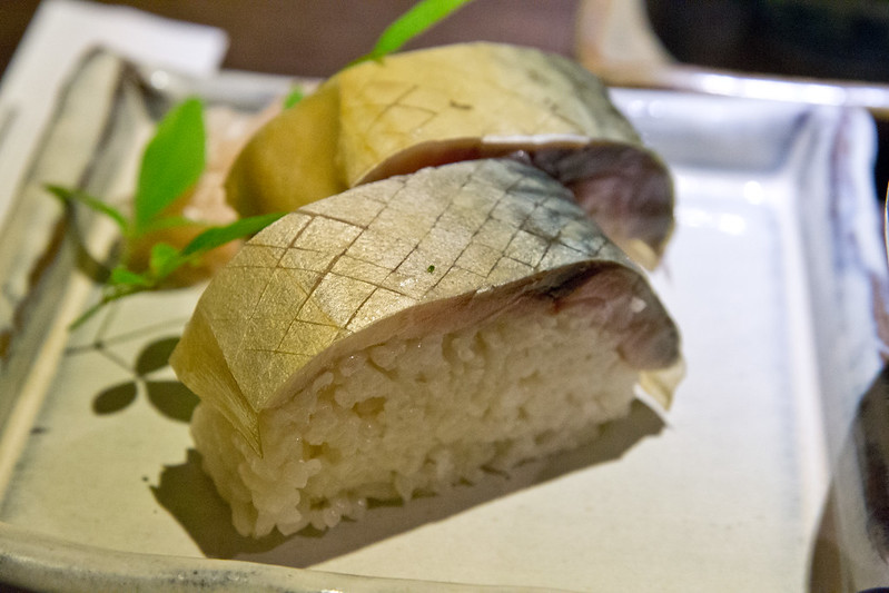 Saba sushi in Kyoto - Best Bites of 2015   packmeto.com
