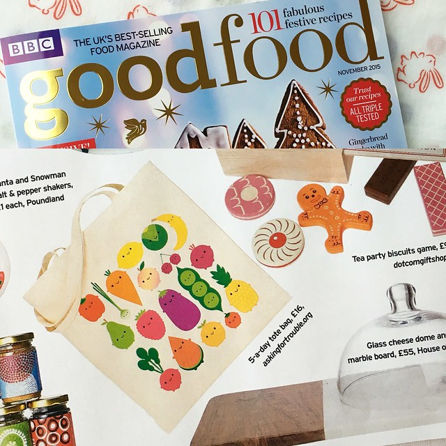 Check me out in BBC Good Food magazine! Typically, I only have 2 bags left but more are on their way.