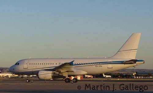 A319 - Airbus A319-133(CJ)