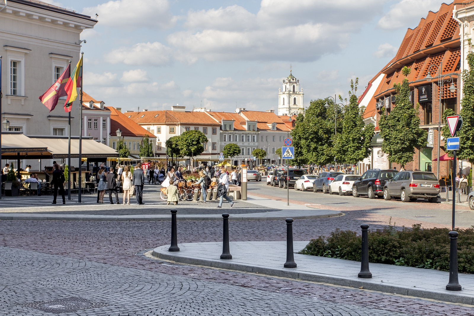 Old city in Vilnius / Wilno, Litwa