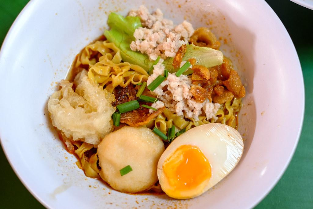 Guan's Mee Pork in bowl