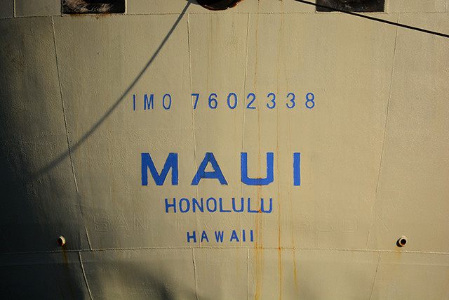 Maui SF old home port