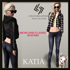 LEGENDAIRE KATIA OUTFIT WITH SHOES CLASSIC AND MESH AVIS