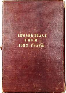 Edward Pease 1845 Proof set case