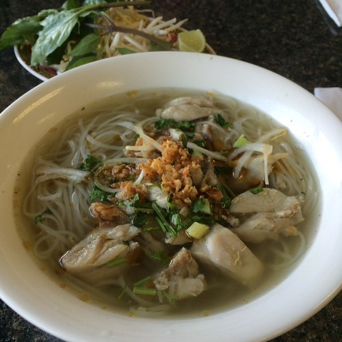 Chicken pho #yegfood