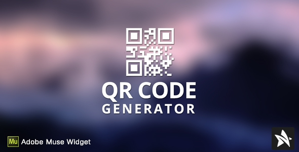 CodeCanyon QR Code Generator for Adobe Muse
