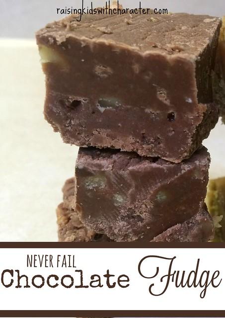 Never Fail Chocolate Fudge