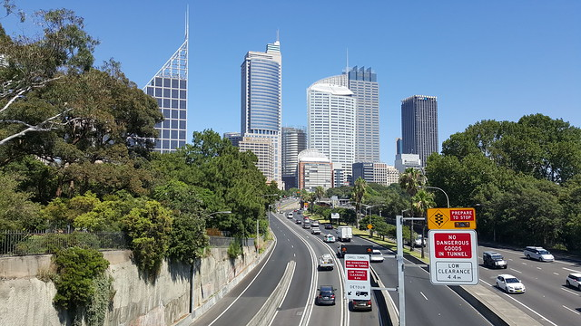 The Cahill Expressway, Sydney NSW
