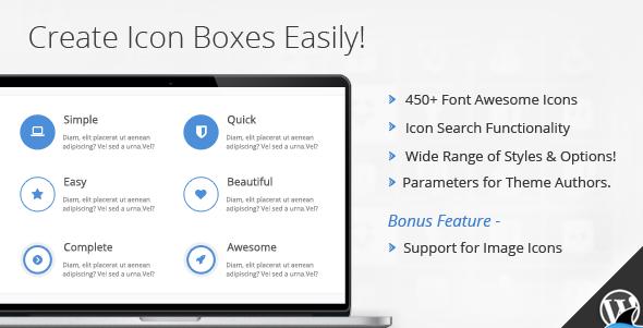 Codecanyon Icon Box for Visual Composer v1.4.3