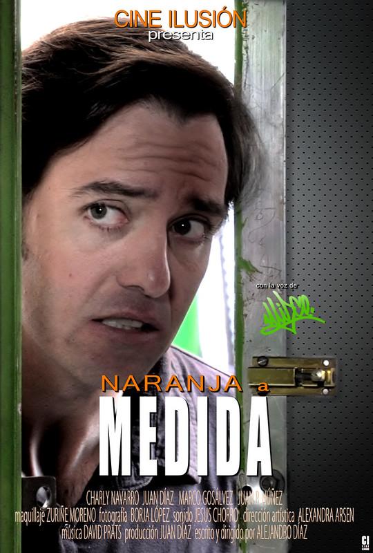 """cortometraje """"Naranja a medida"""" (2014)"""