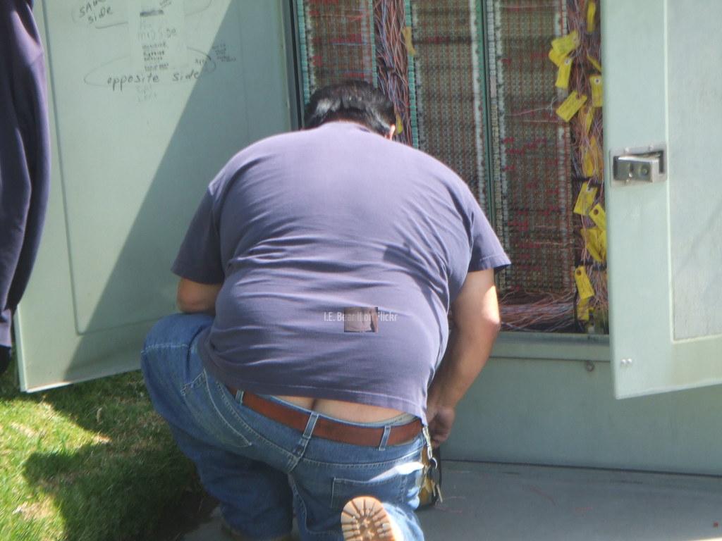 Hairy butt in underwear consider