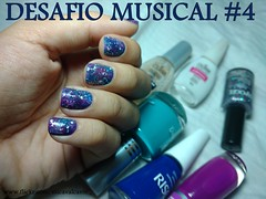 Desafio Musical 4 - A Sky Full of Stars - Galaxy nails