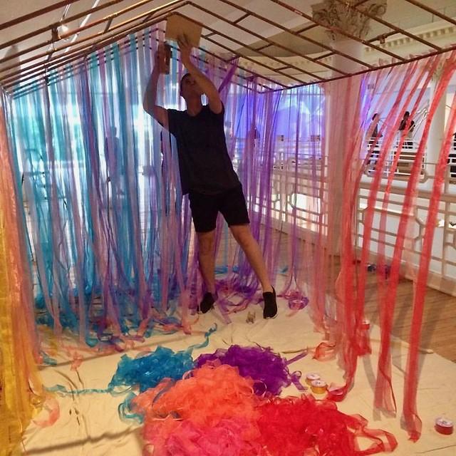 20161027 Young Artist Initiative in Miami - MFG installation