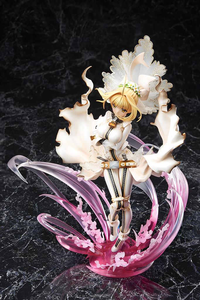 《Fate/EXTRA CCC》 Saber(尼祿) 新娘拘束服  セイバー・ブライド ~咲き誇る花のごとく~