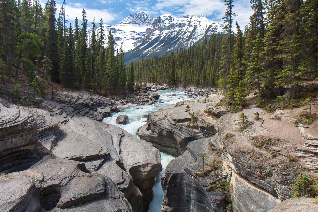 Banff National Park, Mistaya Canyon