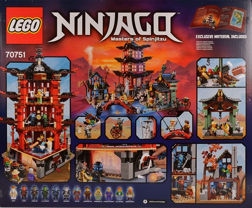 Lego Build Tower Morro Ninjago