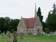 Bury Cemetery chapel