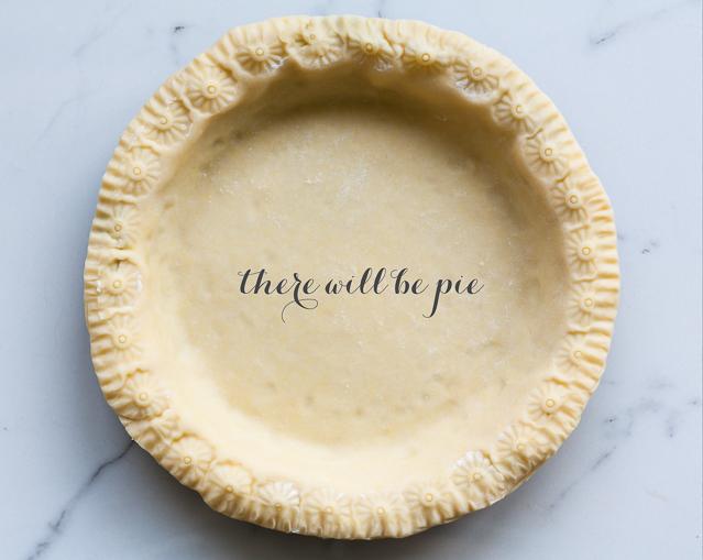 Pie crust ready for oven | Janice Lawandi @ kitchen heals soul