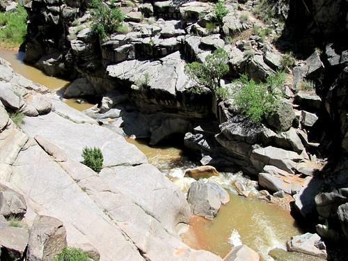 rural colorado canyon granite potholes escalantecanyon escalantecreek