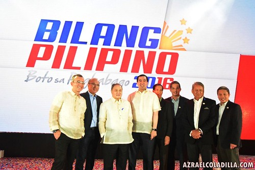 TV5 launch of Bilang Pilipino