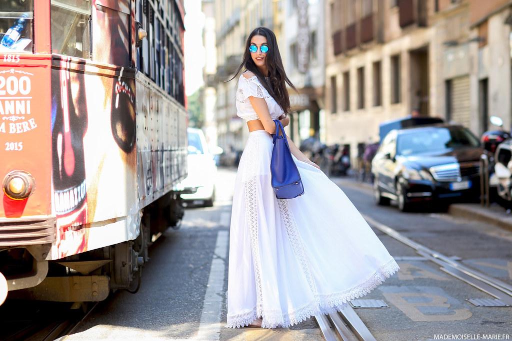 Sara Rossetto at Milan Fashion Week Menswear