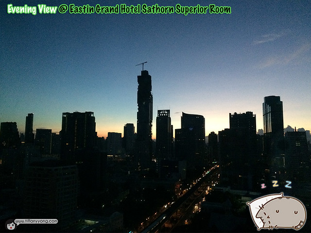 Eastin Grand Superior Room Night View