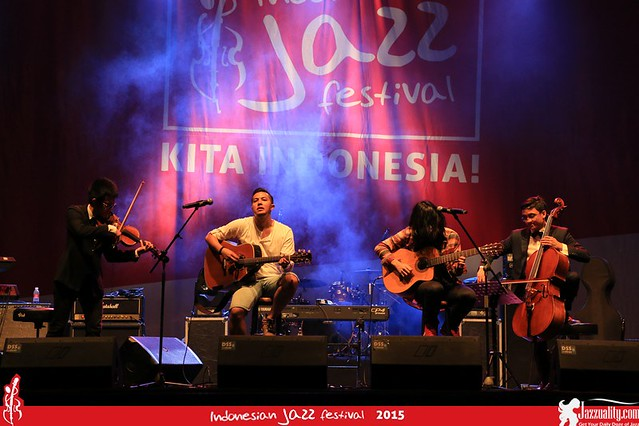 Indonesian Jazz Festival 2015 - sketsa (2)