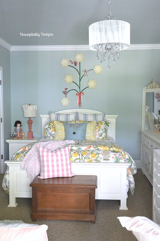 Little Girl's Bedroom Makeover - Housepitality Designs