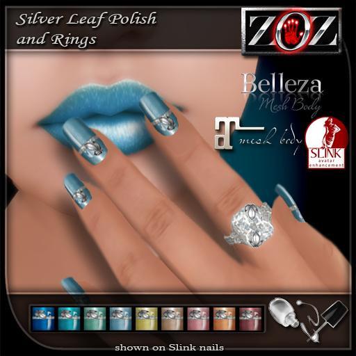 -{ZOZ}- Silver Leaf Pix