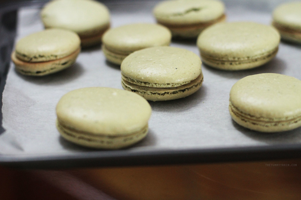20899831990 db00fe2c80 b - Matcha Macarons with Red Bean Filling + My Japan Travel Video!