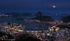 Moonlight in Rio de Janeiro - Sugar Loaf - Rio 2016 Luar sobre o Rio de Janeiro - Pão de Açucar - Rio450 #SugarLoaf #DonaMarta #PãodeAçucar #Rio by .**rickipanema**.