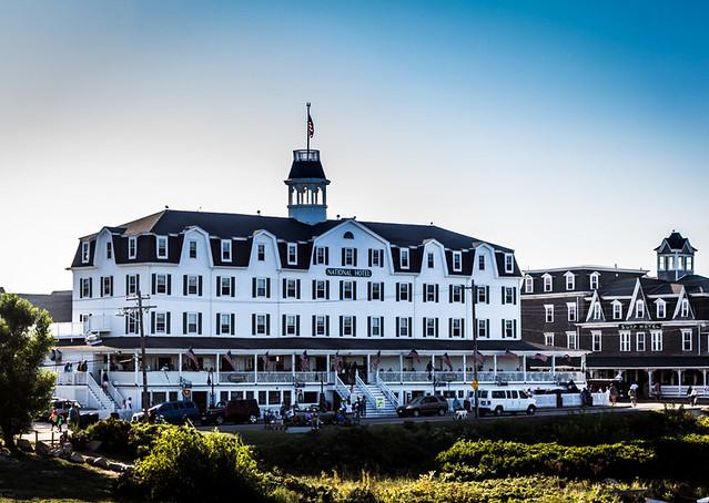 National Hotel, Block Island by Eddy