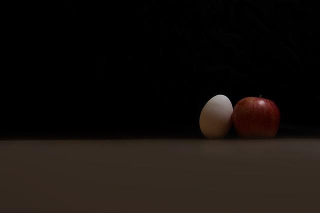 N Appel und n Ei