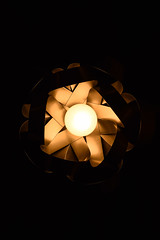Banded Light Shade - Photo of Clavé