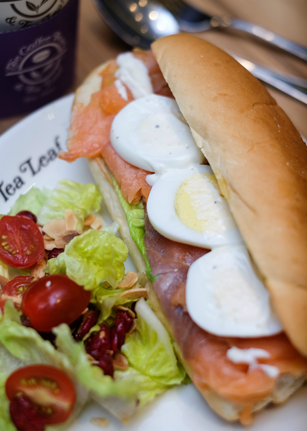 The Coffee Bean Menu: Smoked Salmon