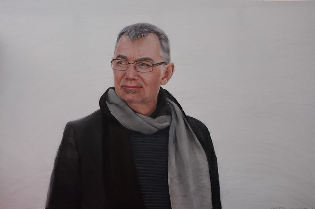 Thomas Calström  by portrait painter Christer Paleologos