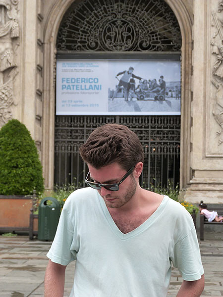 paul devant le palais madame