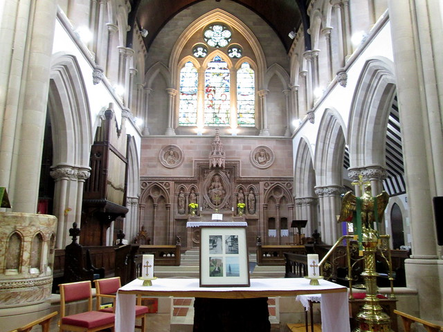 Interior, St Augustine's Episcopal Church, Dumbarton