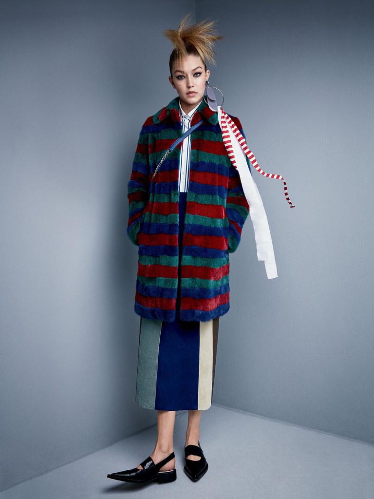 Джиджи Хадид — Фотосессия для «Vogue» 2015 – 2
