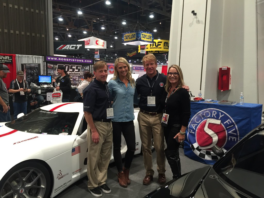 Katie Osborne at SEMA 2015
