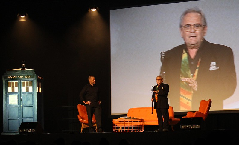 Doctor Who Festival Sydney: Adam Spencer with Sylvester McCoy