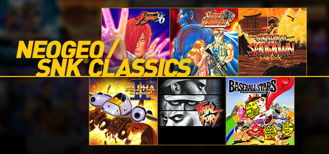 PS Now - NeoGeo and SNK
