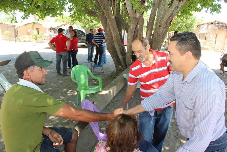Visita ao assentamento José Lourenço em Barro-CE