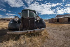 Old Pickup Truck in Ghost Town