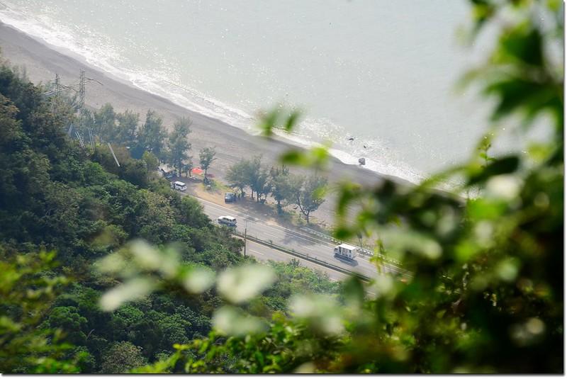 南巴卡路山頂俯瞰台1線