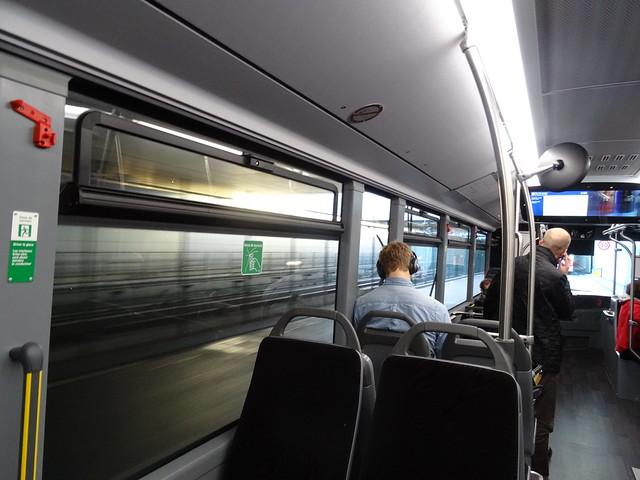 bus vers le terminal 2G