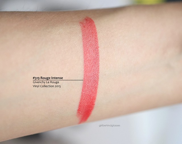 Givenchy Le Rouge Rouge Intense swatch